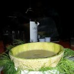 Super Herb Soup - all vegetarian with Style in  presentation