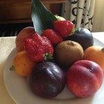 fruit plate!