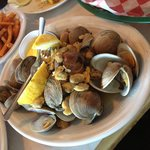 Not so good clams. Where's the beef!