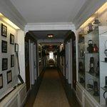 Motel Hallway, like a museum!