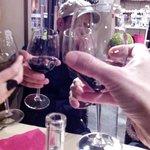 Para o brinde,delicioso vinho Ronan by Clinet - Bordeoux