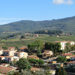 View from the hill above Greve
