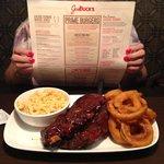 Fabulous ribs, Joe Buck's BBQ, St. Louis, MO