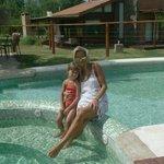 Con mi hija Constanza disfrutando de una tarde maravillosa en Brisas de Nono