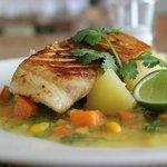Grilled Mackerel - Salza Resto Svarga Resort Lombok