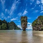 the famous james bond Island (without all the tourists)