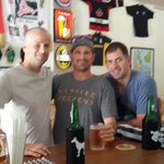 Superbowl at Globe Senggigi 3 great guys!