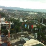 View of Bandung from hotel room