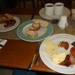 breakfast buffet was good