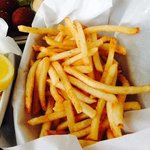 french fries with old bay seasoning
