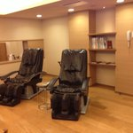 Massage chairs on 3rd floor lounge