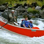 Fun Whitewater in a Drift Boat - Helfrich River Outfitters - Rogue River, Oregon
