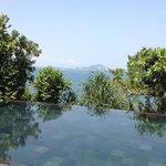 udsigt fra swimmingpoolen