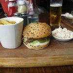 A real Cheeseburger! Very Good!