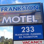 Frankston Motel Sign