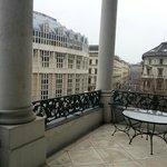 Blick Imperial Suite Balkon Terrasse zu Wien