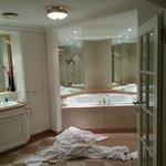 Badezimmer Bade Landschaft Imperial Suite