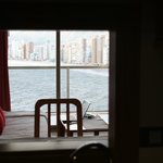 Sea view from kitchen!