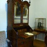 Charles Wesley's desk