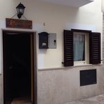 Entrance to hostel.