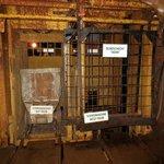 Besucherbergwerk lift naar 800 m