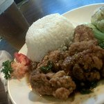 Rice + Fried Chicken In Butter Sauce + Iced Tea package