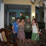 Carlos e la moglie