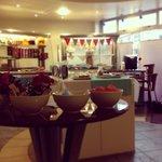 Tilleys cafe serving area