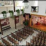 Interior Salón de Actos Flamencos.