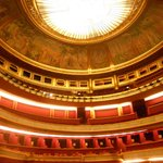 Theatre des Champs-Elysees: interior of the dome before the show