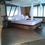 il nostro bungalow:il letto