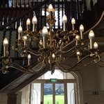 Wonderful staircase in the main house