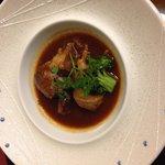 26年2月 和食会席 牛スネ肉の煮込みは柔らかくて美味しかったです
