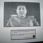 Quotation of Pol Pot at first floor