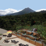 Our Volcano & Hot Springs View