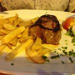 Mouth watering fillet steak
