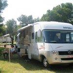Emplacement camping-car camping Le Fun