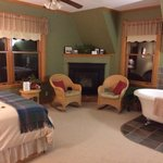 Whispering Pines. Room was super cozy and quiet