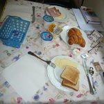 Mes de café da manhã