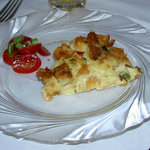 Typical Breakfast - Roasted Asparagus Strata