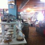 Il negozio di prodotti alimentari dentro al negoZio