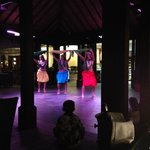 The nightly Polynesia dance show in the main restaurant