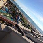 Uitzicht op zee vanaf 5e verdieping