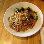 Indonesian veg noodles