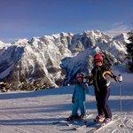 che bello sciare!