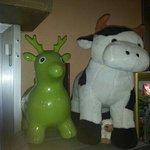 la vaca!