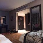 bad looby nice room