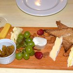 Dessert cheese board