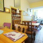 Bright, spacious kitchen and dining areas