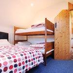 Comfort triple room, en-suite with kitchenette.